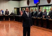 Paul Rueda  reelecto Magistrado de la Sala Constitucional por un nuevo periodo  de ocho años